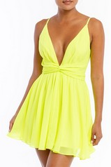 Neon Flow Mini Dress